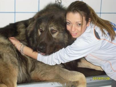 Lupus in toilette con Paola