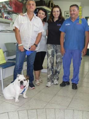 Carlotta ed i suoi ..genitori in visita alla Dog's House  web